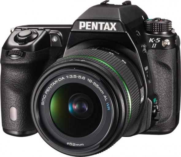Pentax K-5 II, K-5 IIs