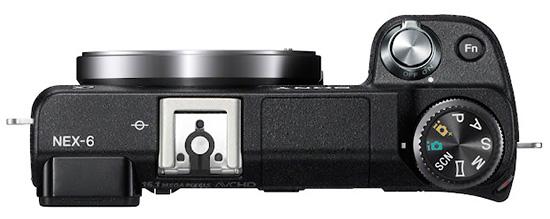 Sony-NEX-6-top