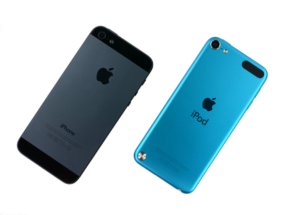 iPod touch 5代 iPhone 5 比較
