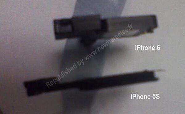 iPhone 5S, iPhone 6 零件流出