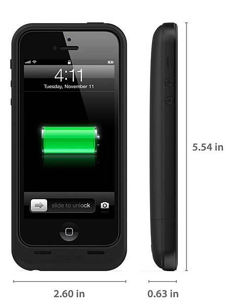 iPhone 5 電池保護殼
