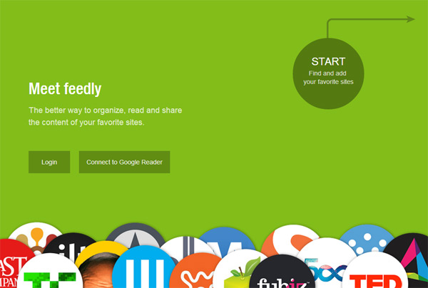 Feedly Google reader替代方案