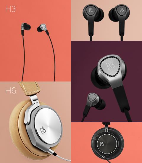 B&O BeoPlay H3, H6 耳機發表