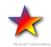 HTML 5 Canvas 2d gradient star