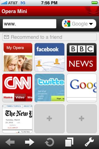 iPhone版Opera Mini 5