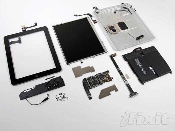 iPad 被拆解