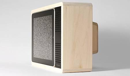 iPad復古電視座