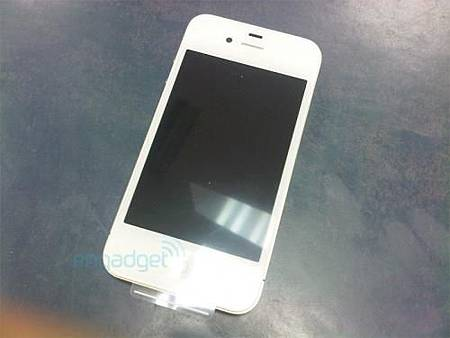 白色 iPhone 4