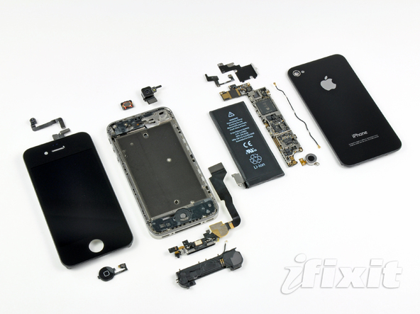 iPhone 4 Verizon CDMA版 被拆解