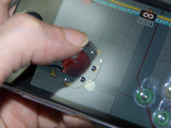 iPhone方向鍵/按鍵觸感隱形貼