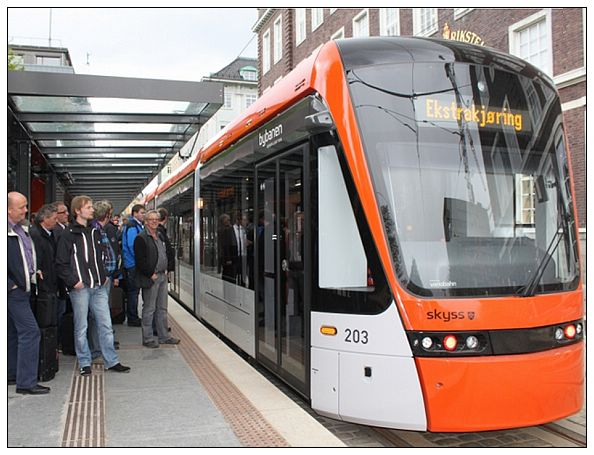 bergen tram