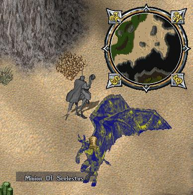藍惡魔 Minion of Scelestus