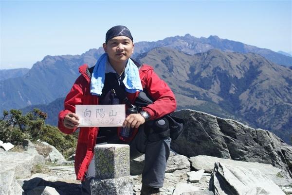 我的第7岳~向陽山登頂~3602m