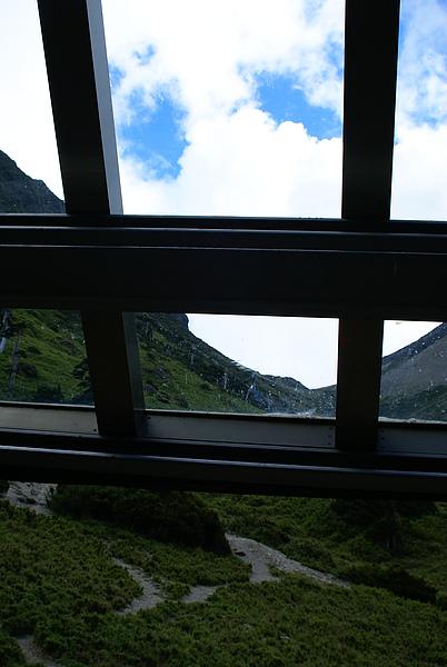 南湖山莊的天窗