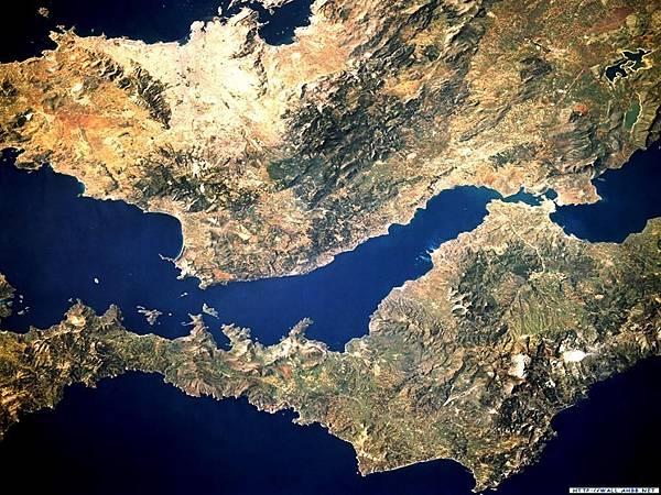 衛星拍攝的亞洲版塊