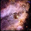 M17星雲,又稱為Omega星雲