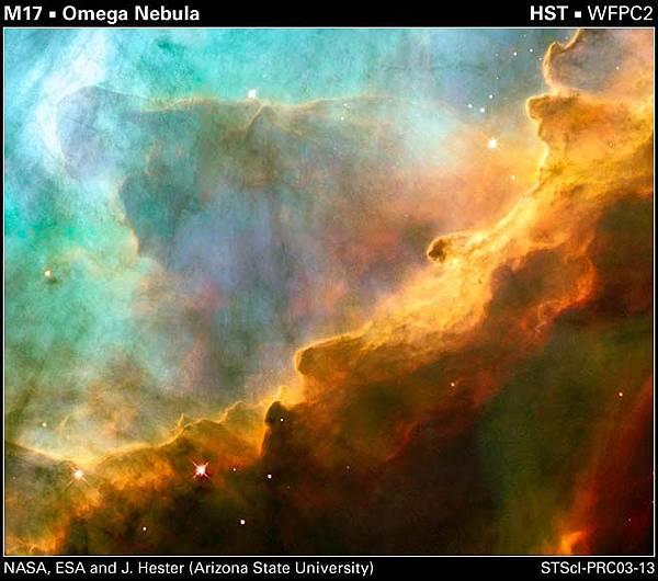 巨蛇座 (M16(NGC6611)老鷹星雲