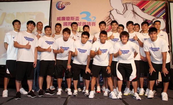 第三十二屆瓊斯盃中華男籃全體隊員