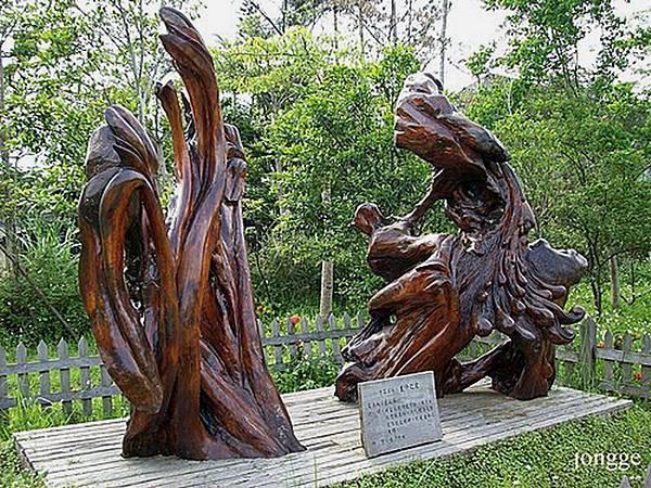 檜木雕刻品