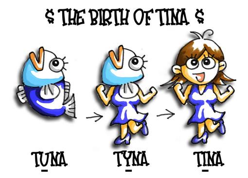 Tina生日卡(正面)