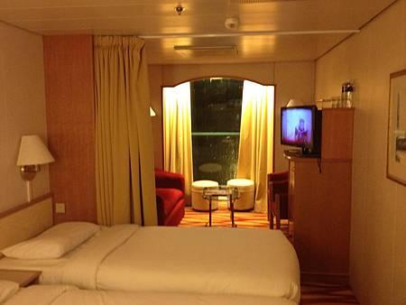 麗星郵輪大型窗房間