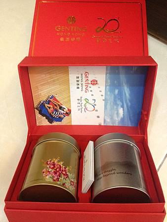 麗星郵輪送的茶葉禮盒