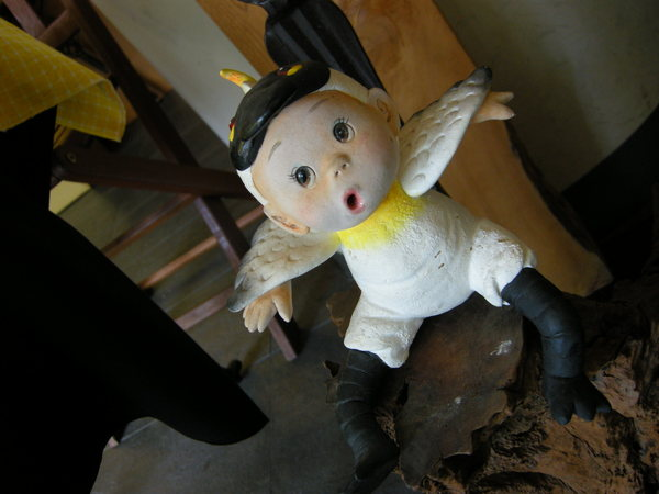 黑面琵鷺娃娃