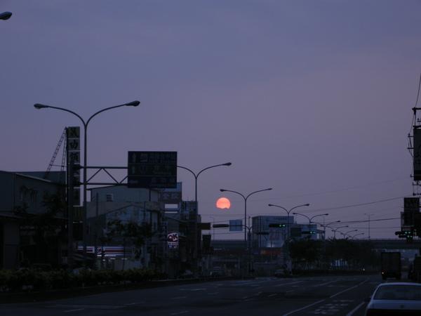烏日的日出