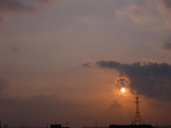 蘇澳漁港的日出