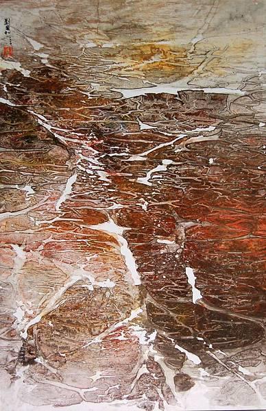 2004雪融的聲音西藏組曲五十七 92 2x60 4cm .jpg