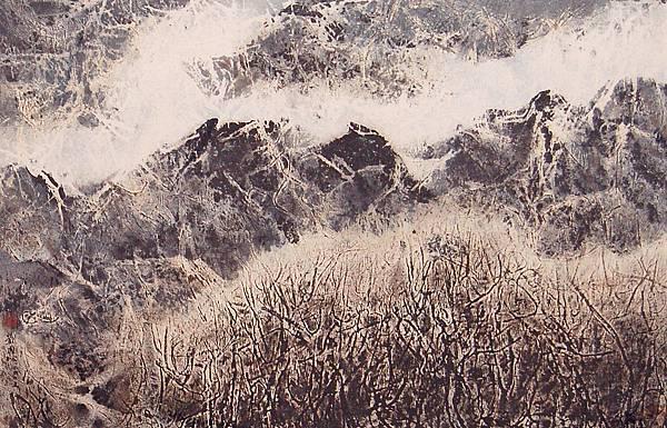 2005蒼蒼秋林雪 西藏組曲七十八 62x94 5cm5.jpg