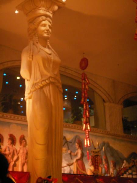 希臘神話娛樂場大廳