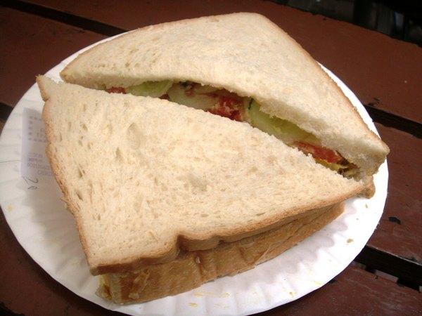 瑪嘉烈蛋塔巨大三明治