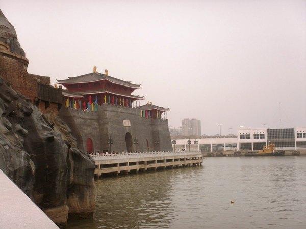 漁人碼頭眺望唐城