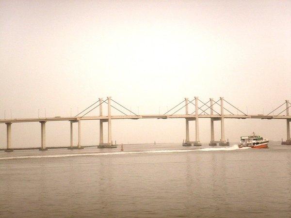 漁人碼頭看港灣