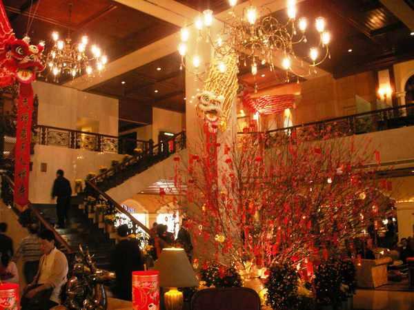 文華東方酒店大廳