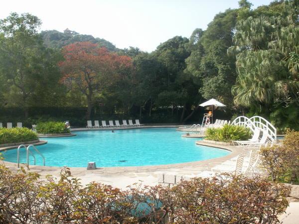 凱悅酒店太白渡假村泳池