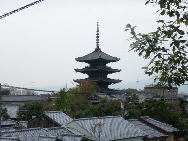 京都清水寺附近一景