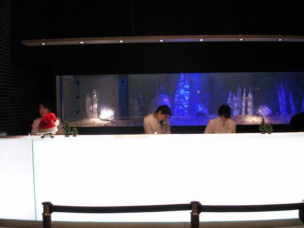 大阪環球影城飯店櫃檯