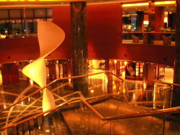 大阪南港的凱悅飯店一景