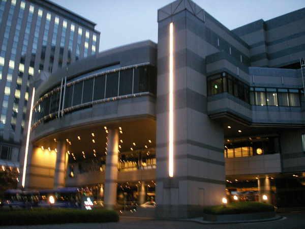 大阪南港的凱悅飯店
