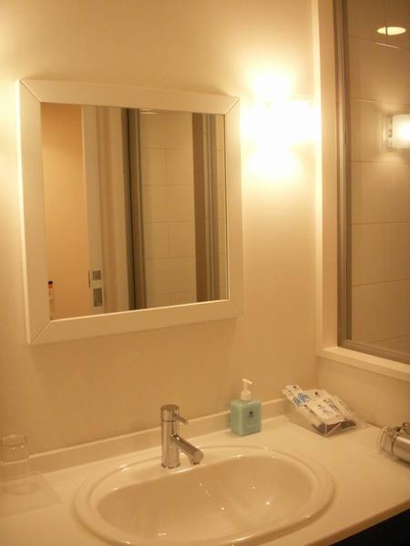 大阪環球影城飯店房間洗手台