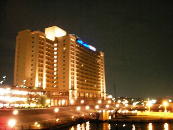 大阪環球影城飯店夜景