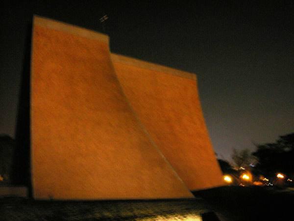 夜視拍攝教堂四