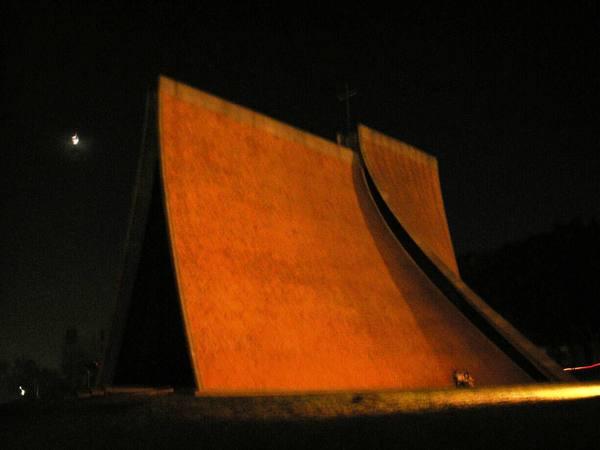夜視拍攝教堂六