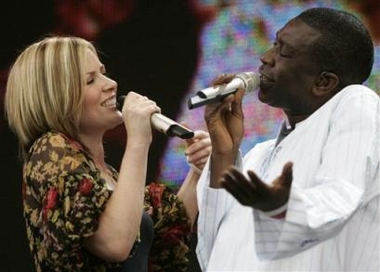 Youssou N'Dour and Dido