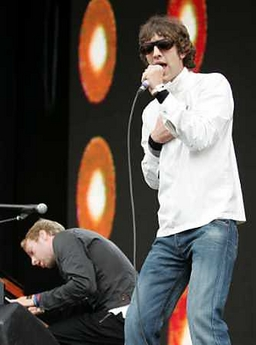 Richard Ashcroft with Chris Ma