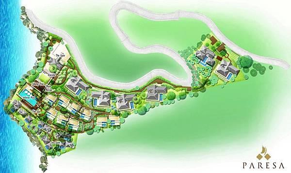 Paresa-resort-map
