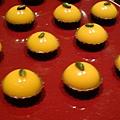 芒果巧克力塔