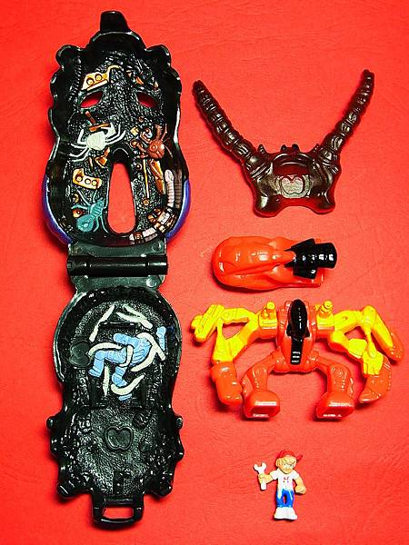 Mighty Max Horror Heads